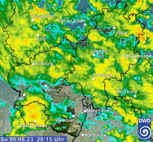 Regenradar Deutschland Hr