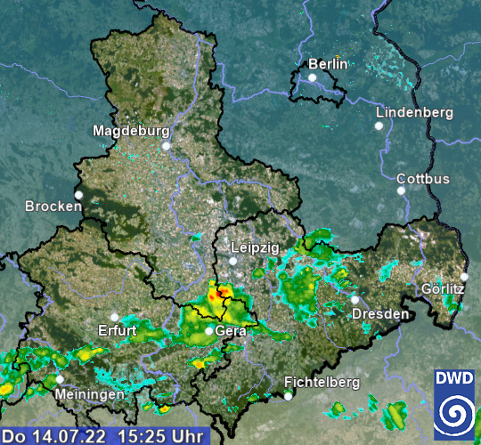 Wetter Radar Deutschland