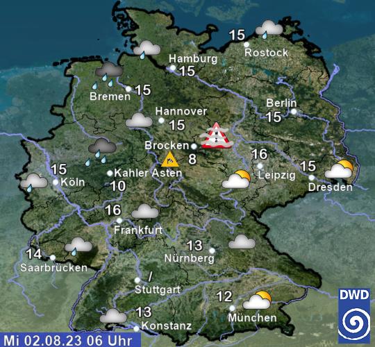 Schneehöhen Deutschland Aktuell