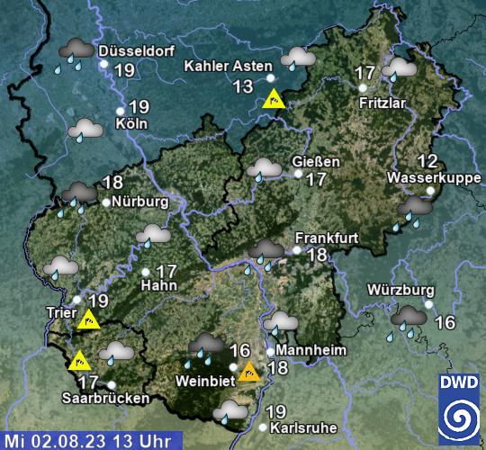 Wetterbericht Hessen