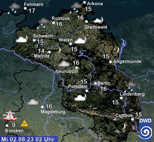 Wetter Berlin Brandenburg 16 Tage