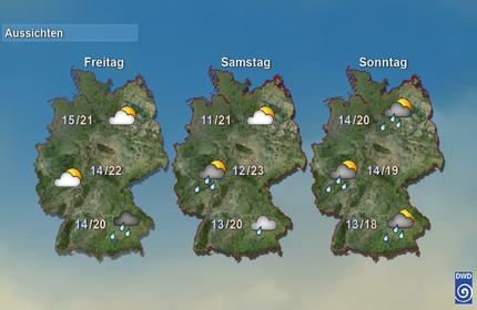 Deutschland 2. bis 4. Tag