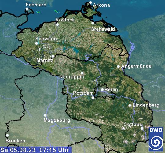 Regenradar Berlin 3 Stunden