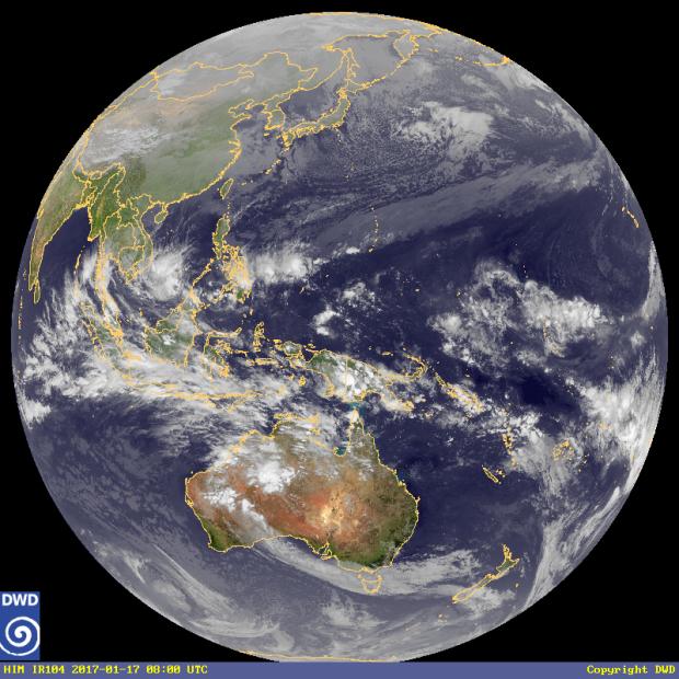 About Icon >> Satellitenbilder Australien / Asien - Wetterdienst.de